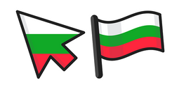 Bulgaria Flag Cursor