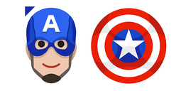 Captain America Shield Cursor