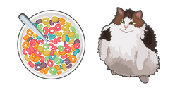 Cat Wanting Fruit Loops Cursor