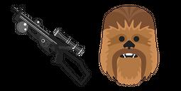 Star Wars Chewbacca Bowcaster Cursor