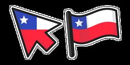 Chile Flag Cursor