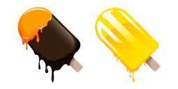 Chocolate and Fruit Popsicles Cursor