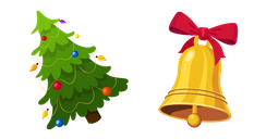 Christmas Tree and Bell Cursor