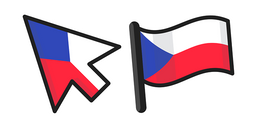 Czech Republic Flag Cursor