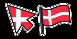 Denmark Flag Cursor