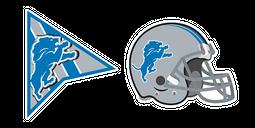 Detroit Lions Cursor
