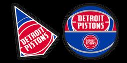 Detroit Pistons Cursor