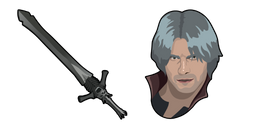 Devil May Cry 5 Dante Rebellion Sword Cursor