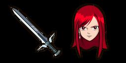 Fairy Tail Erza Scarlet Cursor