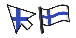 Finland Flag Cursor