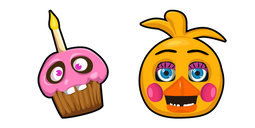 Five Nights at Freddys Toy Chica Cursor