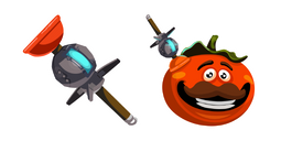 Fortnite Clinger and Tomatohead Cursor