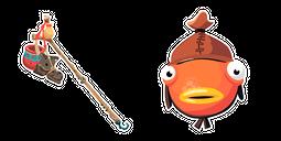 Fortnite Fishstick Skin Bootstraps Pickaxe Cursor