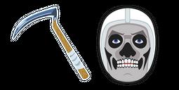 Fortnite Skull Trooper Reaper Pickaxe Cursor