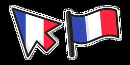 France Flag Cursor