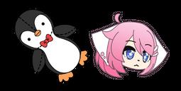 Gacha Life Senpai Artz and Penguin Doll Cursor