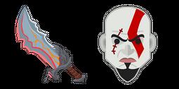 GOW Kratos Blades of Chaos Cursor Cursor