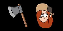 Gravity Falls Wendy Cursor
