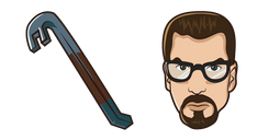 Half-Life Gordon Freeman Crowbar Cursor