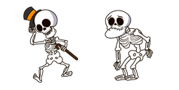 Halloween Funny Skeleton Cursor