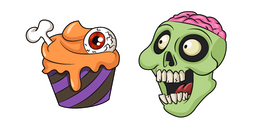 Halloween Zombie Treats Cursor