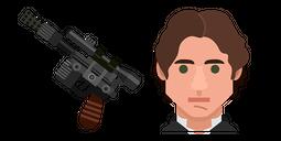 Star Wars Han Solo Blaster Cursor