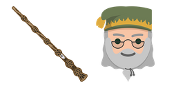 Harry Potter Dumbledore Wand Cursor