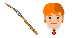 Harry Potter Ron Weasley Wand Cursor