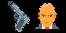 Hitman Gun Cursor