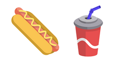 Hot Dog and Cola Cursor