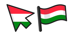Hungary Flag Cursor