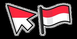 Indonesia Flag Cursor