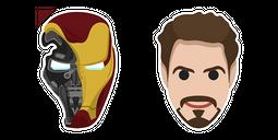 Iron Man Endgame Helmet Tony Stark Cursor
