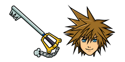 Kingdom Hearts Sora Cursor
