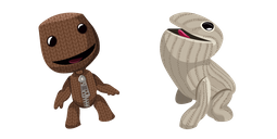 LittleBigPlanet Sackboy and Oddsock Cursor