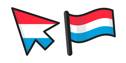 Luxembourg Flag Cursor