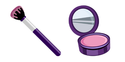 Makeup Brush and Mirror Cursor