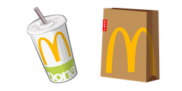McDonalds Cola and Package Cursor