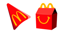 McDonalds Happy Meal Cursor