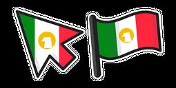 Mexico Flag Cursor