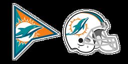 Miami Dolphins Cursor