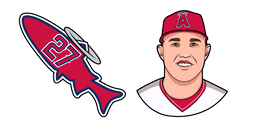Mike Trout Cursor