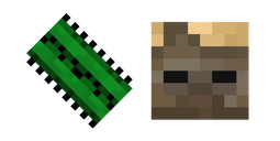 Minecraft Cactus and Husk Cursor