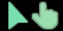 Modern Green Cursor