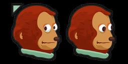 Monkey Puppet Meme Cursor