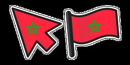 Morocco Flag Cursor