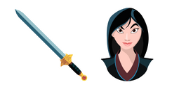Mulan Sword of the Ancestor Cursor