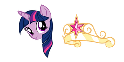 My Little Pony Twilight Sparkle Crown Cursor