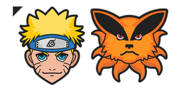 Naruto and Kurama Cursor