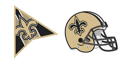 New Orleans Saints Cursor